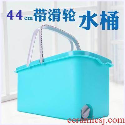 Square basin plastic mop pool water rectangle mop bucket thickening folding household ceramic tile fish tank