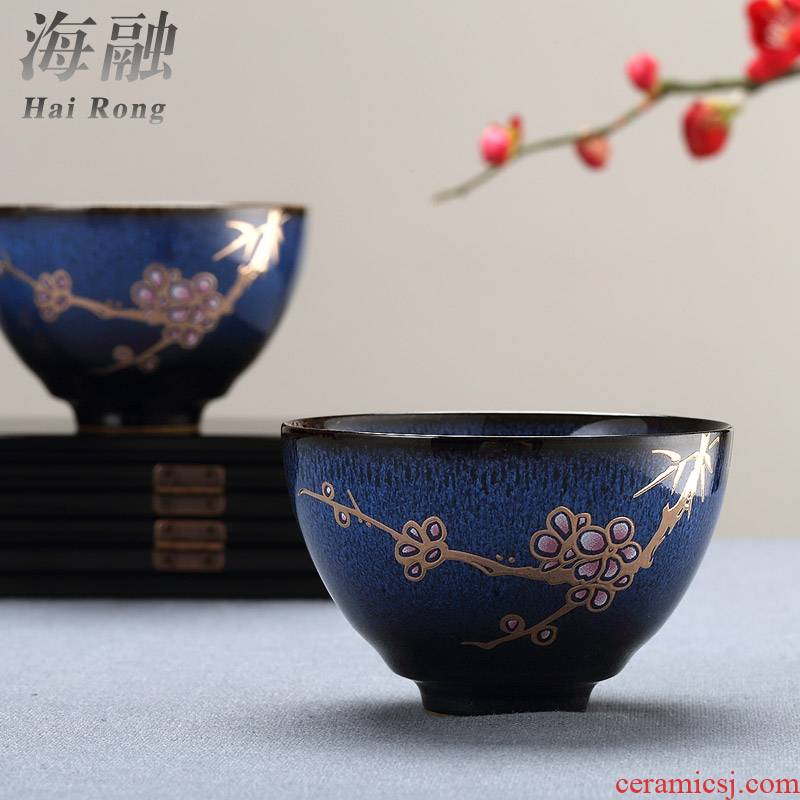 For Taiwan FengZi manual small cup sample tea cup home creative ceramic cup kung fu tea set only one master