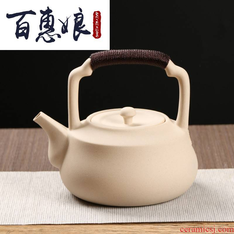 (mother cook kung fu tea ceramic POTS Japanese tea kettle high - temperature household ceramic pot of tea