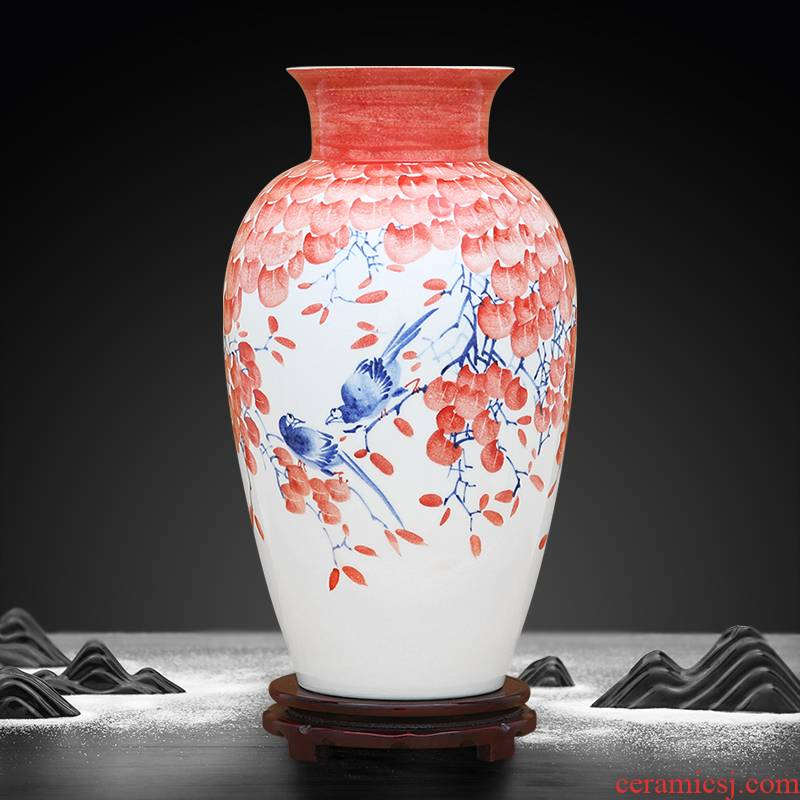 Hand - made color bucket luck goddess of mercy bottle to industry