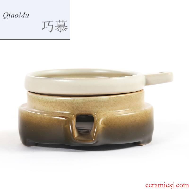 Qiao mu kung fu tea accessories tea tea tea strainer filter GuTao stone mill) filtering network frame
