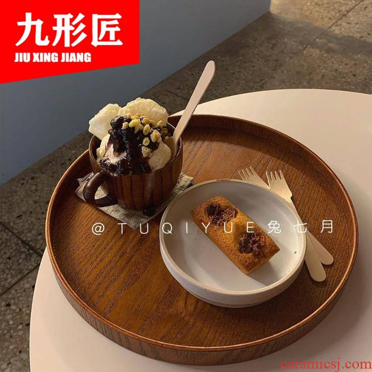 Pasta dishes west pot dish creative web celebrity ins European ceramic plate of household straw Pasta dish bowl