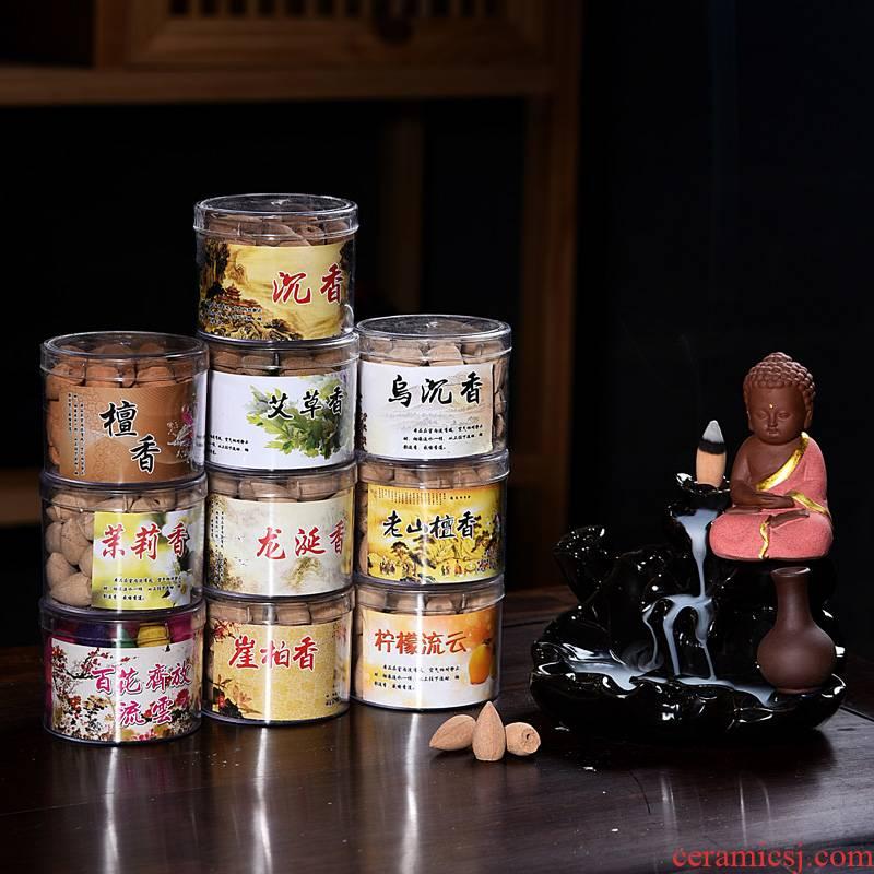 Hui shi Hui shi drive mosquito incense incense grain ceramic backflow sandalwood incense buner toilet household indoor lasting deodorant
