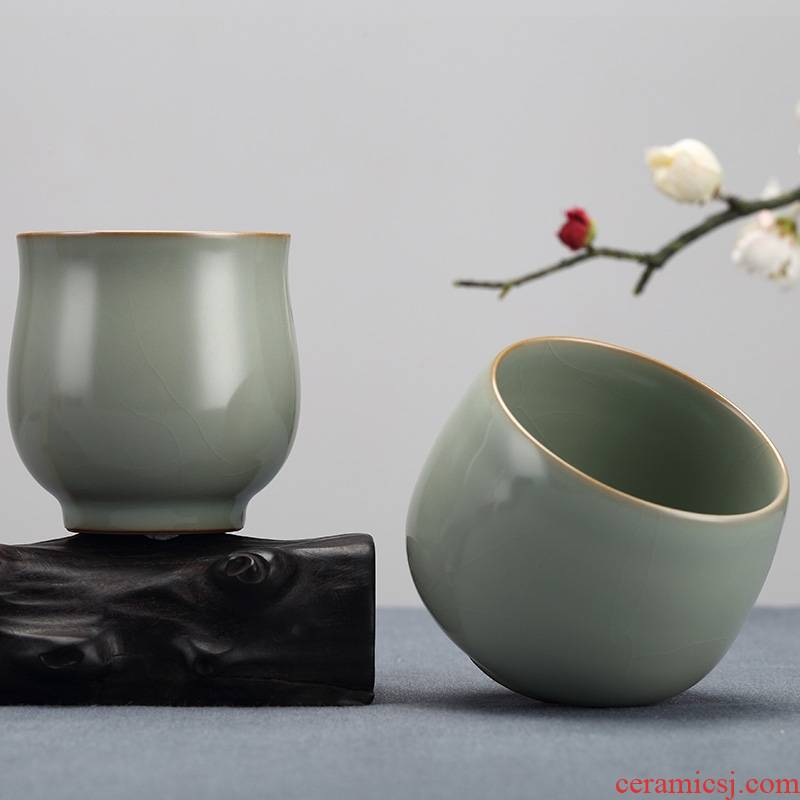 Qiao mu measured your up start restoring ancient ways household manual sample tea cup jingdezhen ceramic creative individual small cups