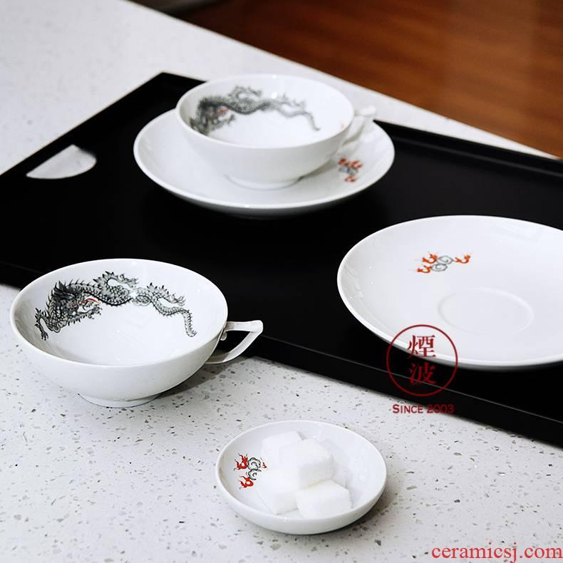 Germany MEISSEN porcelain I - mason Form Ming dragon series of cup tea tea set