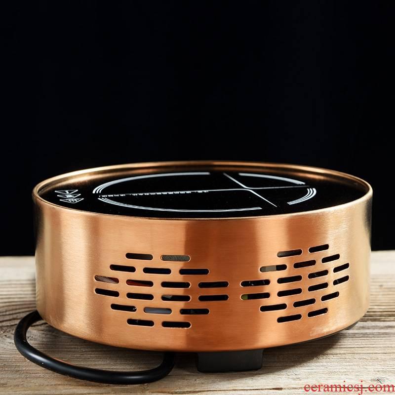 Longed for contracted golden electricity TaoLu.mute boiling tea kung fu tea tea tea stove mini tea kettle furnace