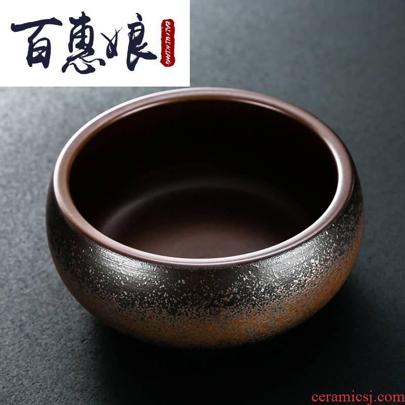 (niang longquan celadon tea wash to wash to the writing brush washer ceramic large bowl kung fu tea tea accessories