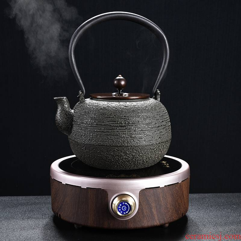 Longed for cast iron pot home opportunely kettle imitated Japanese iron brother TaoLu boiling kettle boiling kettle pot of electricity