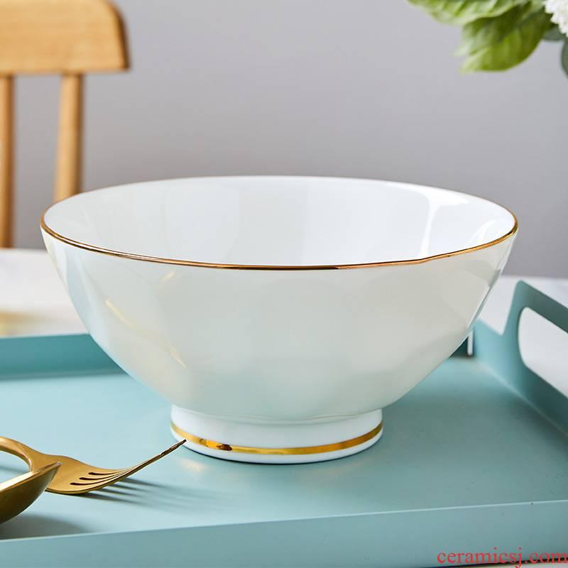 Ipads China tableware up phnom penh rainbow such use ceramic bowl much fruit bowl of salad bowl spherical tall bowl bowl dessert bowl