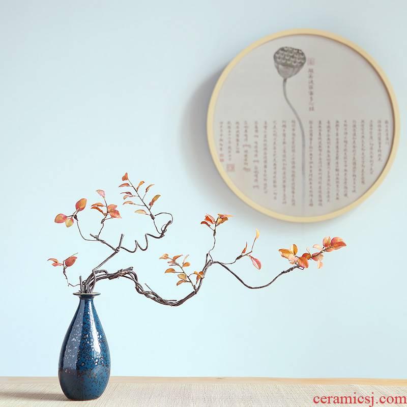 Jingdezhen ceramic craft vase modern home sitting room porch TV ark, flower arrangement between example adornment furnishing articles