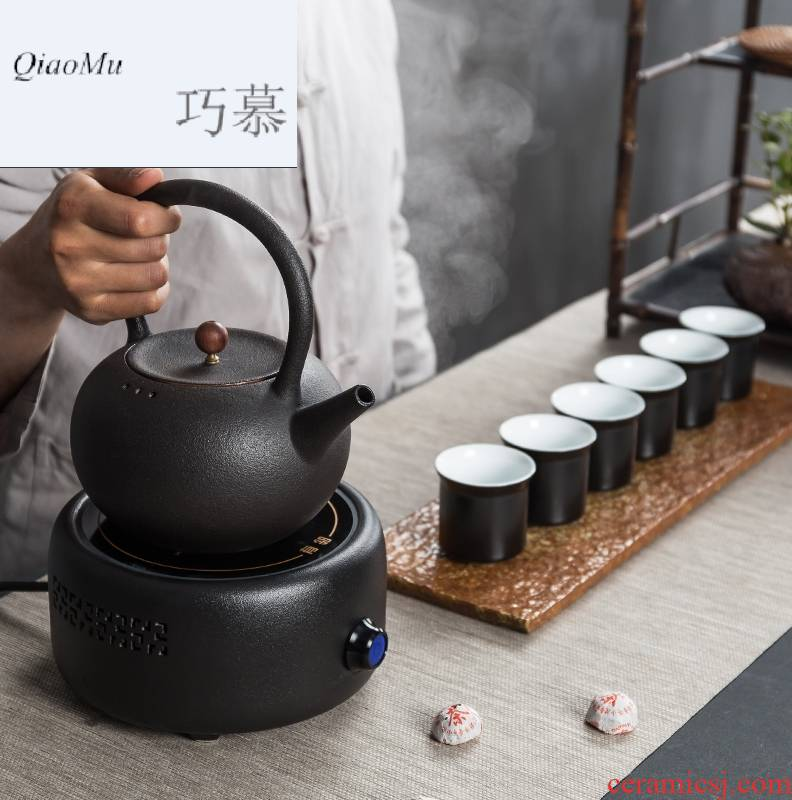 For contracted electricity TaoLu pot pot clay POTS boil water girder of a complete set of kung fu tea tea boiled tea set