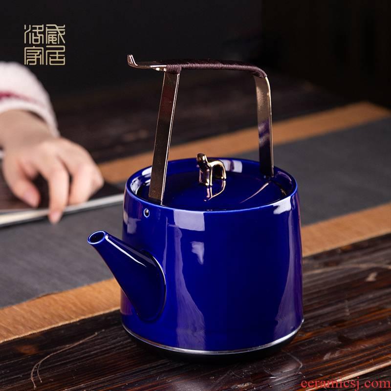Kettle household ceramics girder touch the floor clearance 】 【 pot boiling tea machine automatic KaiShuiHu office