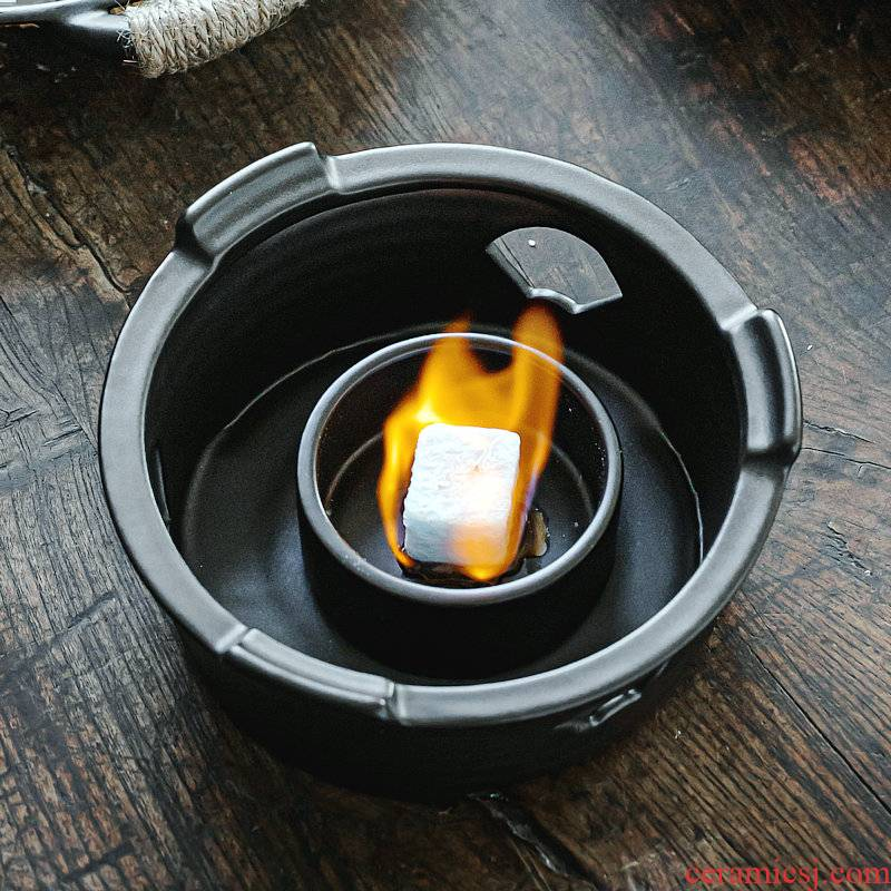 Japanese charcoal'm heating base can be alcohol heating temperature can be heated by'm burning charcoal kung fu tea tea accessories teapot tea