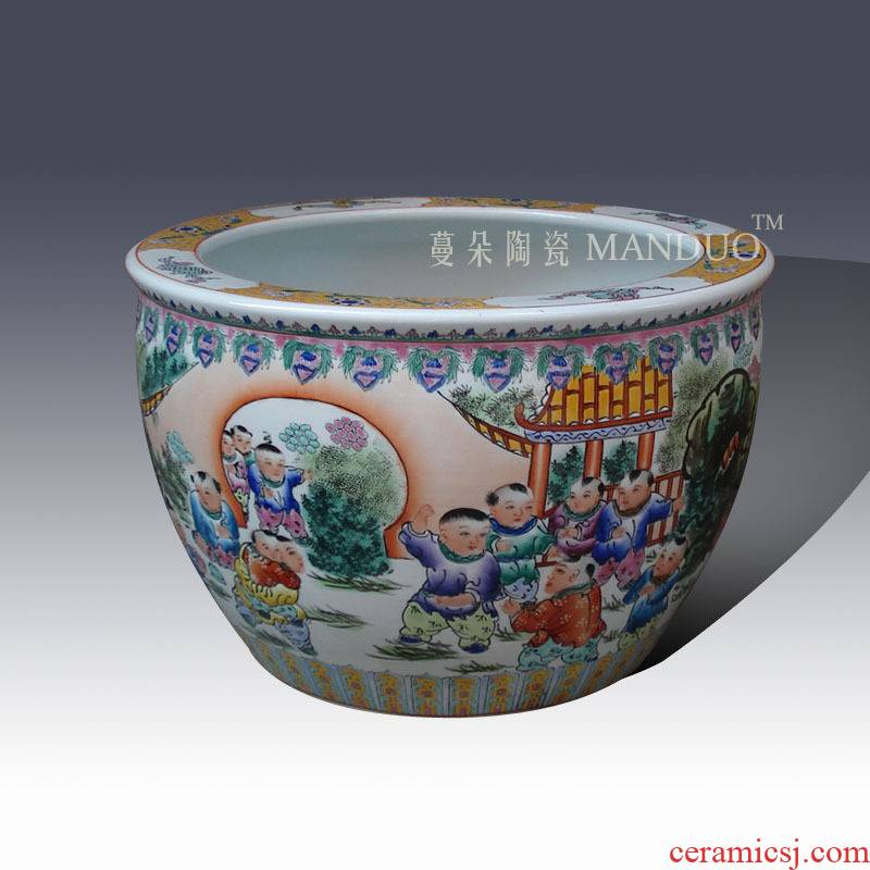 Jingdezhen hand - made the ancient philosophers figure tong qu, calligraphy and painting porcelain porcelain culture, the ancient philosophers books the draw cylinder cylinder