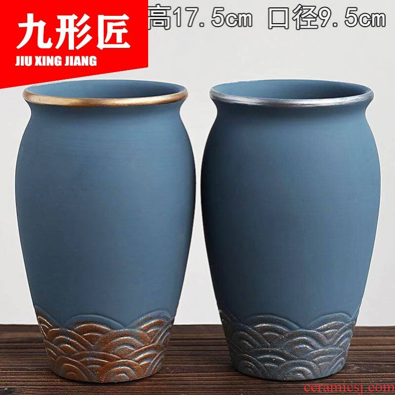 Fleshy flowerpot coarse pottery breathable oversized large - diameter old running the basins with special offer a clearance plant high style restoring ancient ways of ceramic POTS