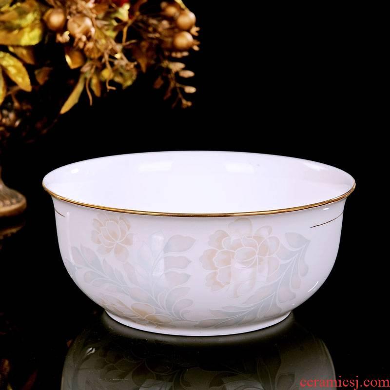 Qiao mu dishes suit 30 manual fuels the ipads porcelain of jingdezhen ceramics tableware suit European dishes