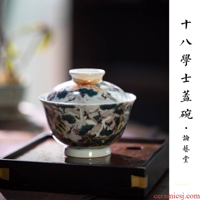 18 bachelor 's and found of art hall tureen jingdezhen checking ceramic tureen only a single second tureen tea bowl