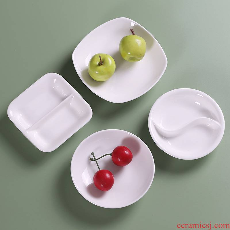 Flavour dish of household ceramic dip ltd. creative points style snack dishes taste dish of ipads China seasoning sauce dish plate