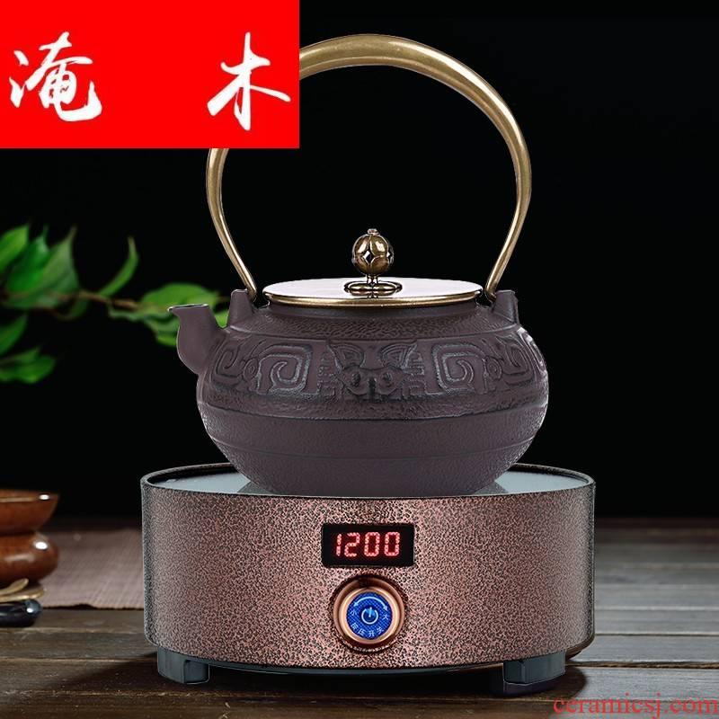 Flooding in southern wood, iron teapot tea furnace heating heat resisting cast iron pot boiled tea kettle electric TaoLu