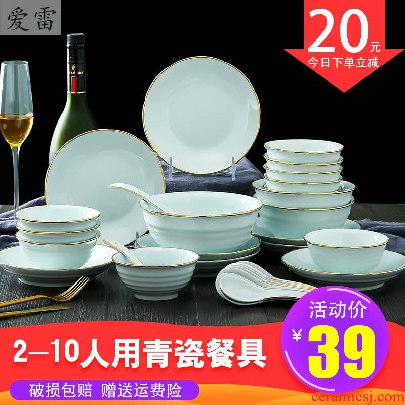 Nordic ins up phnom penh dish suit household ceramics eat bowl plate light much creativity network red tableware portfolio