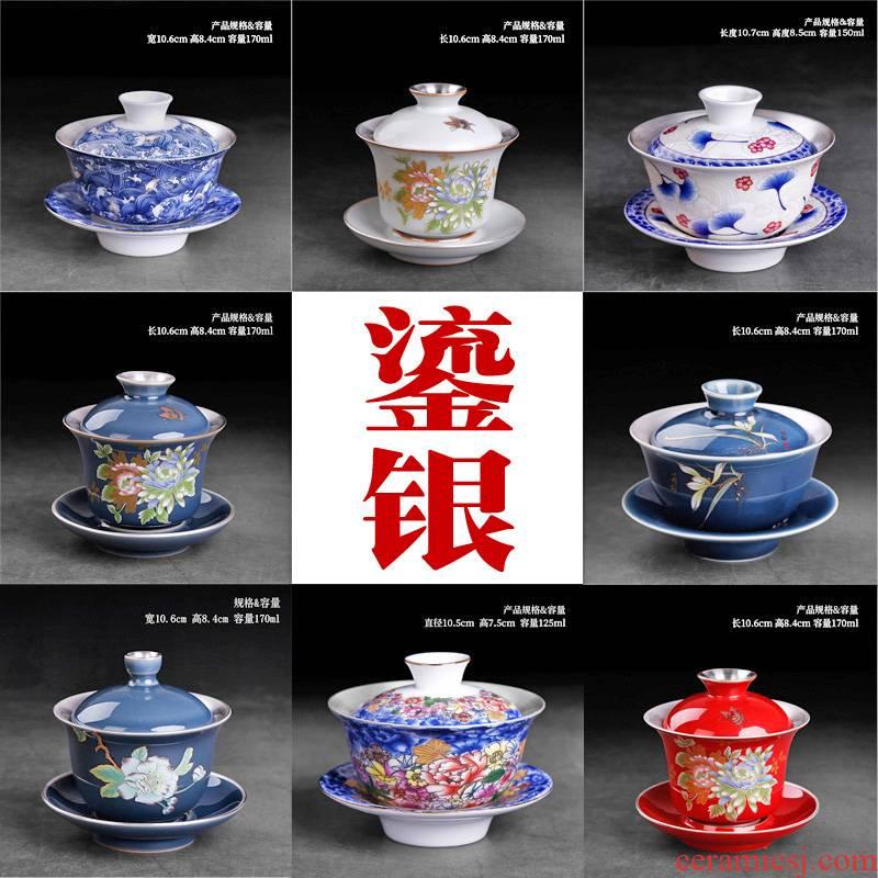 Kombucha tea tureen single pure manual coppering. As silver three cups to ceramic bowl to bowl retro clutching a pot of tea