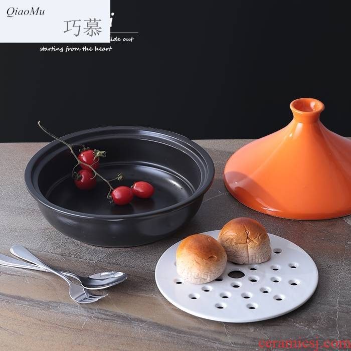 Qiao mu tower JiGuo soup rice casseroles, high temperature resistant ceramic pot open flame'm gas household hotel restaurant