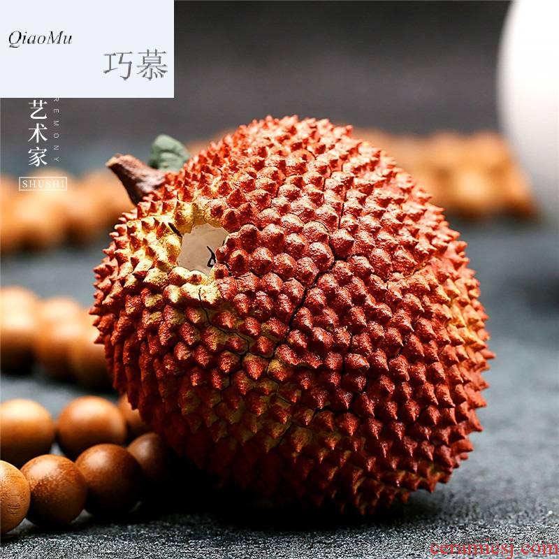Qiao mu SU pet boutique furnishing articles home ideas purple sand yixing tea and kung fu tea tea accessories