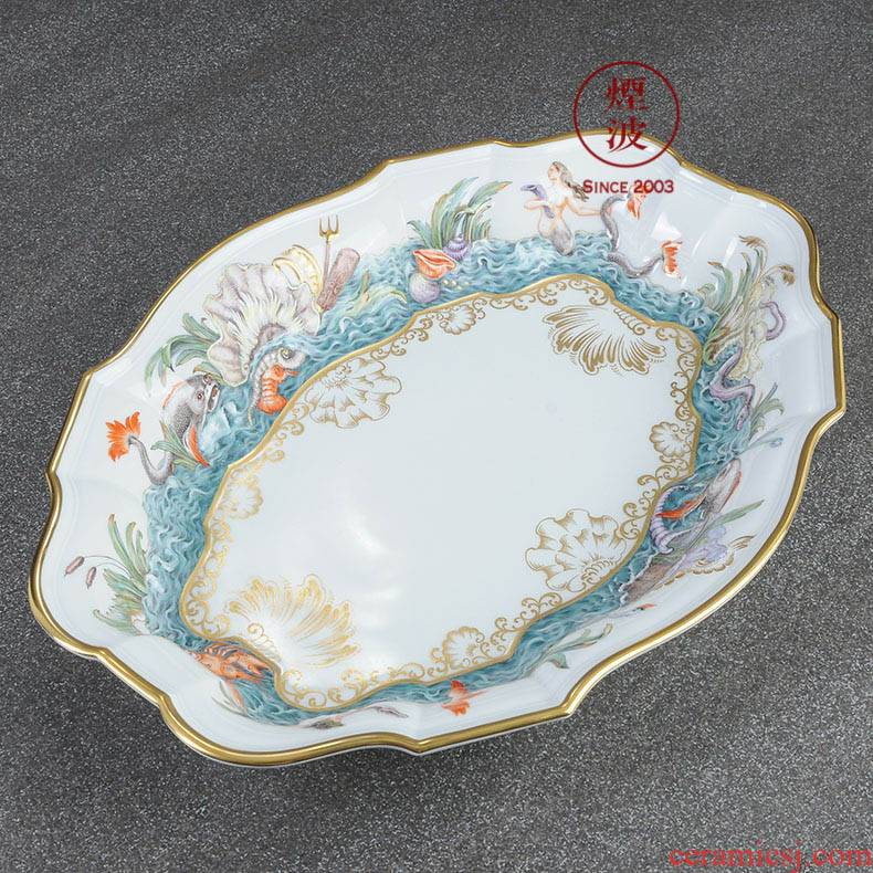 German mason MEISSEN porcelain paint paint limited works swan is great reward household act the role ofing is tasted