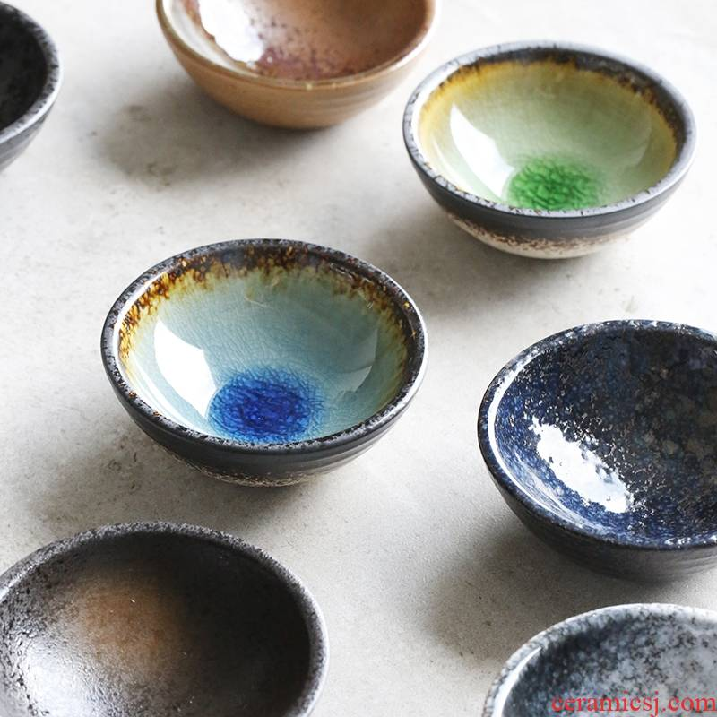 Longed for LH under glaze color 3.5 inch flavour restoring ancient ways opportunely disc deep disc disc snack plate ceramic dishes dish of sauce soy sauce dish