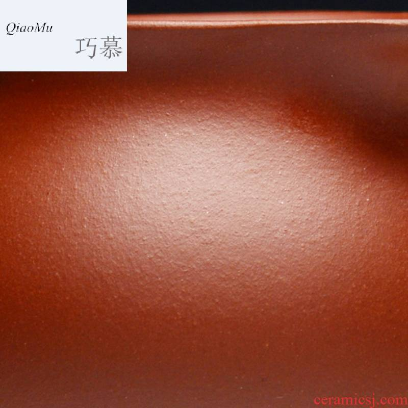 Qiao mu QD yixing purple clay teapots kung fu tea cup run of mine ore the qing cement manual filtering fair tea cup of milk