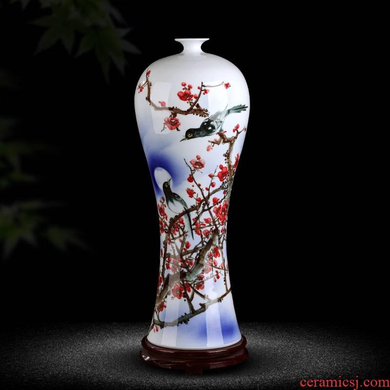The Master of jingdezhen chinaware big vase beaming furnishing articles gifts hand - made hotel club villa