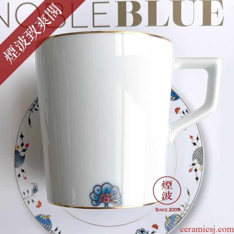 German MEISSEN porcelain mason golden onion petals grain keller cup series