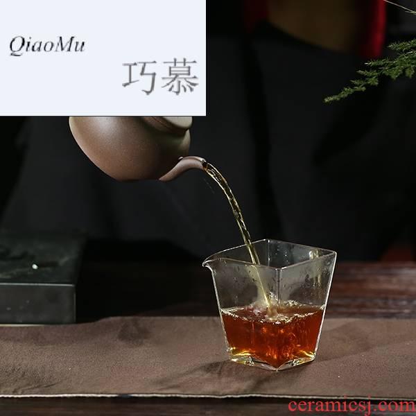 Qiao mu, yixing masters all hand it kung fu tea tea date lotus tea purple clay teapot