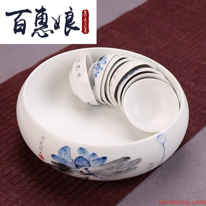 (niang up tea utensils containers of cup tea dishes washed wash to zen tea accessories water jar tea tao