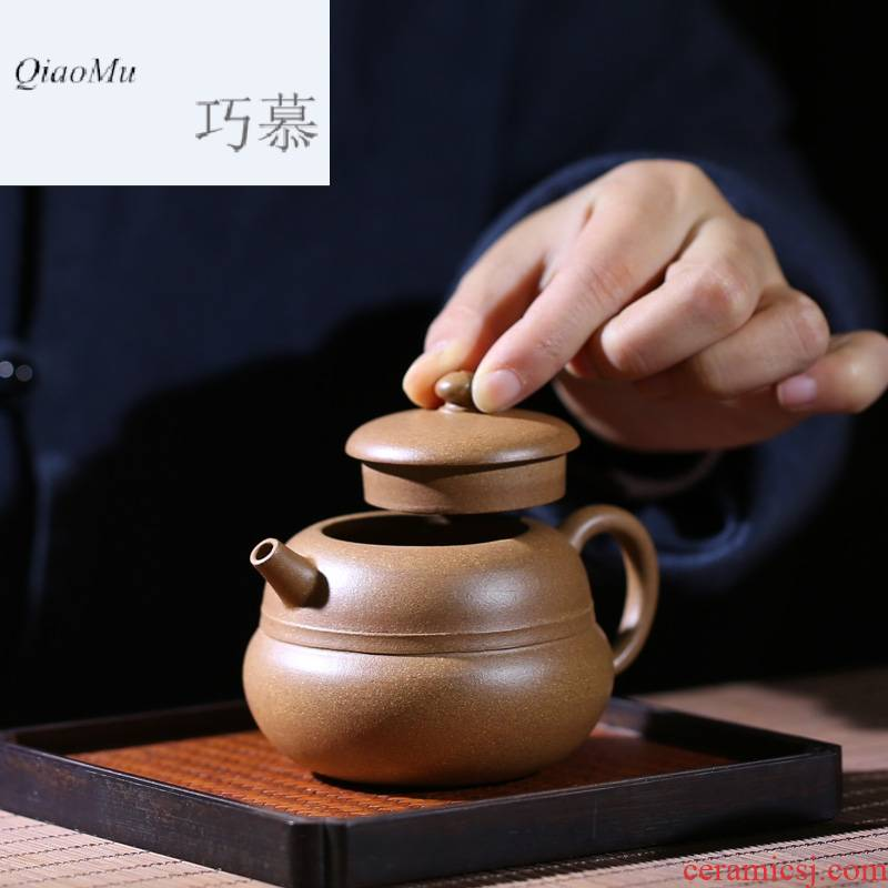Qiao mu it yixing famous manual undressed ore section of mud for a pot of tea teapot S26047