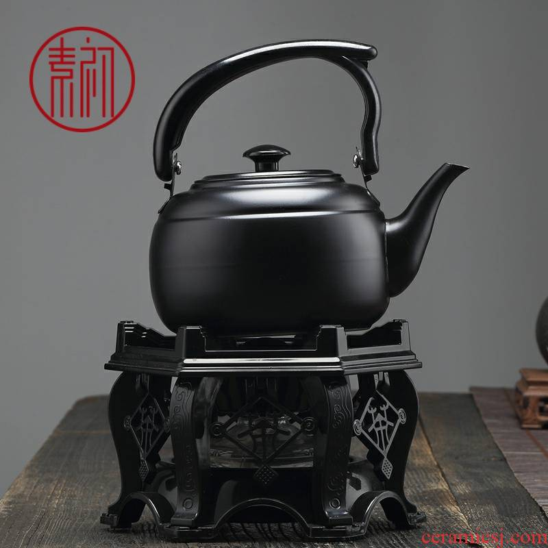 Alcohol furnace base cooking kettle is suing travel kung fu tea set portable Alcohol lamp kettle the teapot