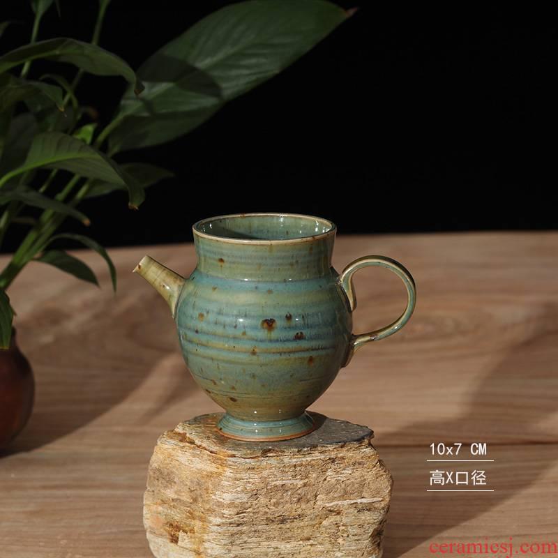 Jingdezhen porcelain pot GongDaoBei up zen GongDaoBei