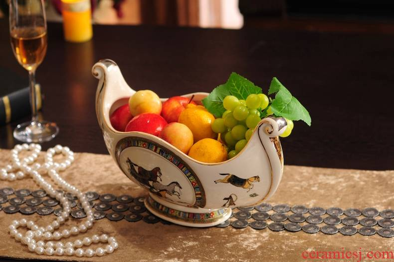 Longed for Europe type palace restoring ancient ways opportunely fruit household act the role ofing is tasted decorate the sitting room place ceramics high like fruit tray