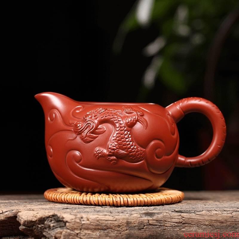 Qiao mu YM yixing are it with kung fu tea tea accessories dahongpao fish dragon fair keller