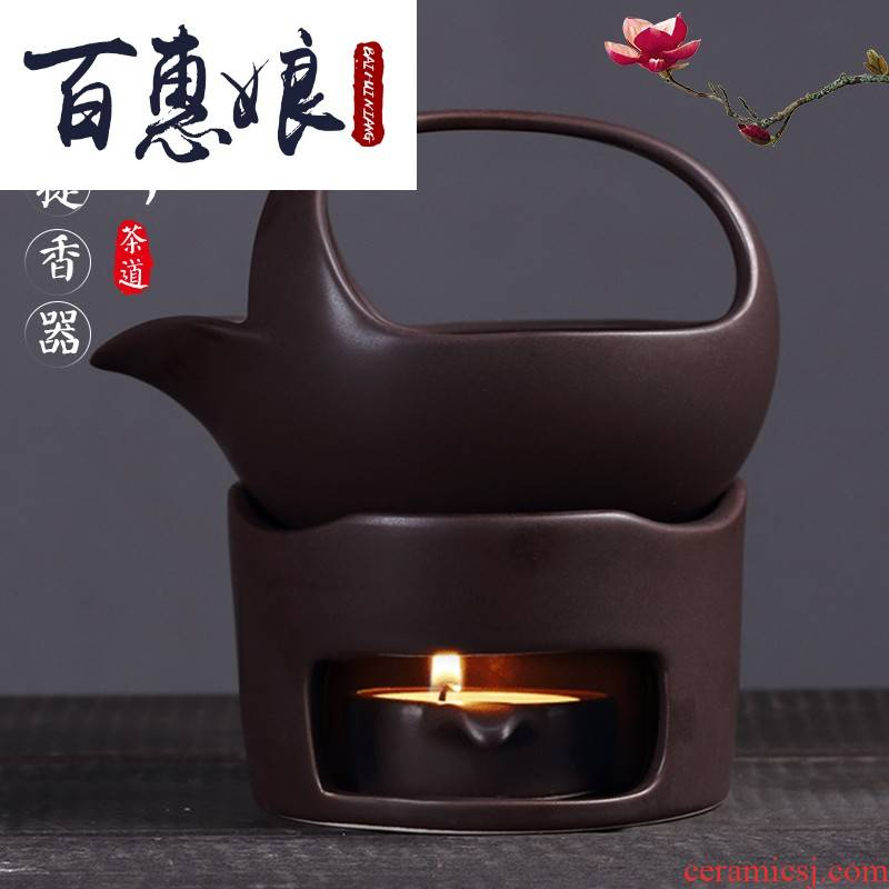 (niang kung fu tea set fire baked tea tea stove waking exchanger with the ceramics pu 'er tea device baked tea, tea taking with zero