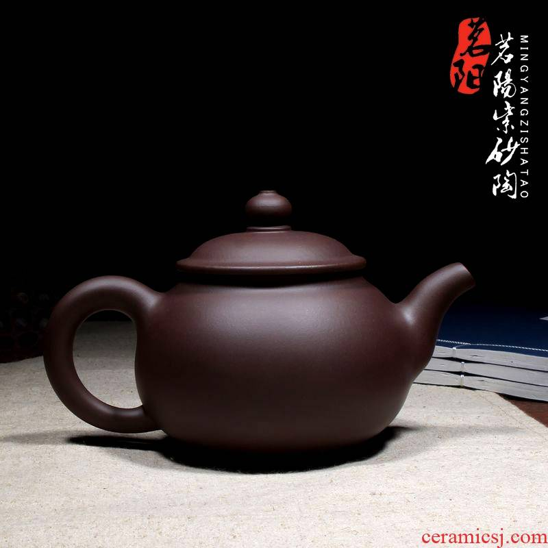 Qiao mu MY yixing manual it working quality goods craft masters boutique teapot tea pot pan