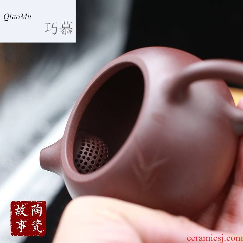 Qiao mu TC yixing it xi shi pot stone hand by hand for ladle pot pot teapot kung fu tea set