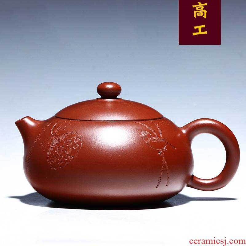Qiao mu YM yixing ores are it by the pure manual collection teapot tea chan 's beauty