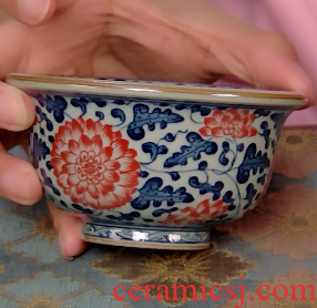 2 in the product under the old blue and white glazed pottery clay and seven red master cup live exclusively