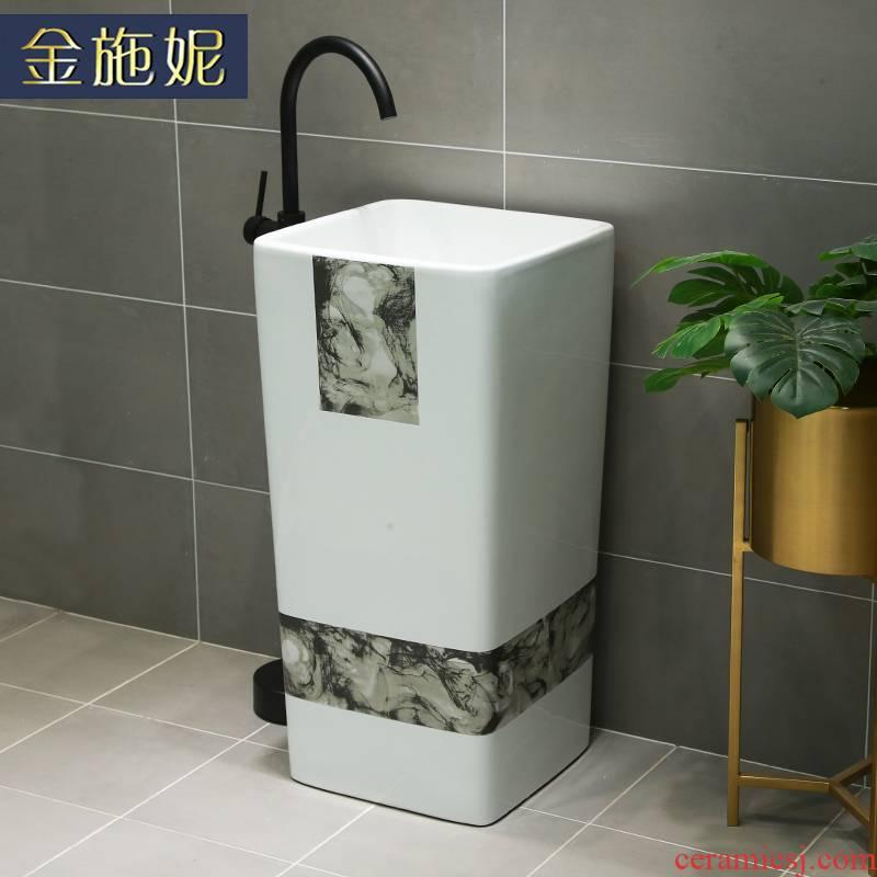 Is suing garden sinks is suing garden art lavabo balcony floor ceramic pond