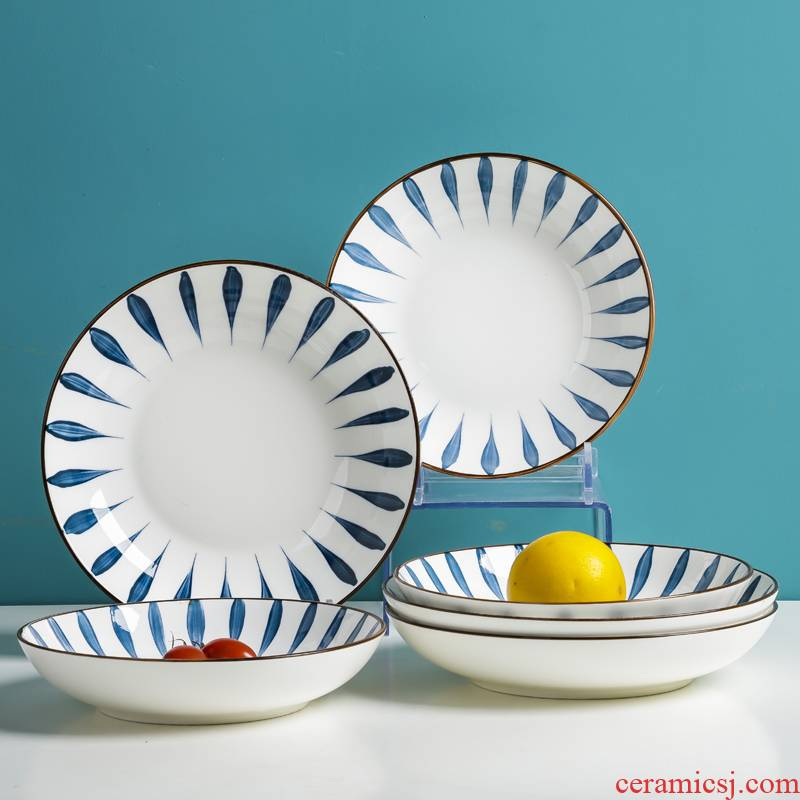 The Nice dishes paragraphs web celebrity home dishes look good high - end ceramic bowl creative fine European - style single food