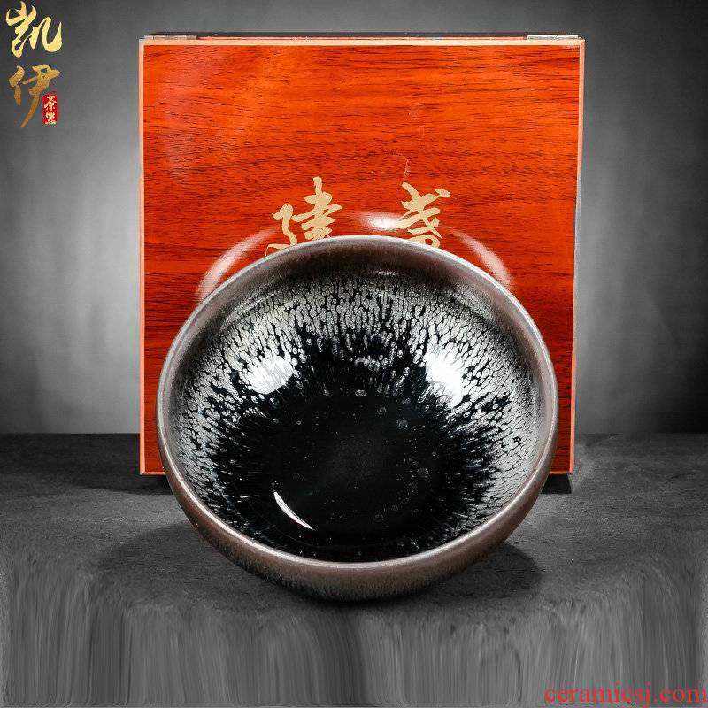 Building light rail tyres large tea cup hot wash dishes tea ceramic cylinder oil bowl water restoring ancient ways Meng Jianshui writing brush washer