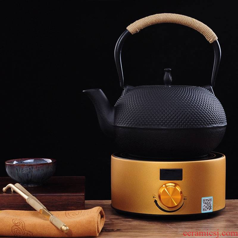 Qiao mu brother pot kettle electric TaoLu boiling blisters south large cast iron pot teapot with the teapot