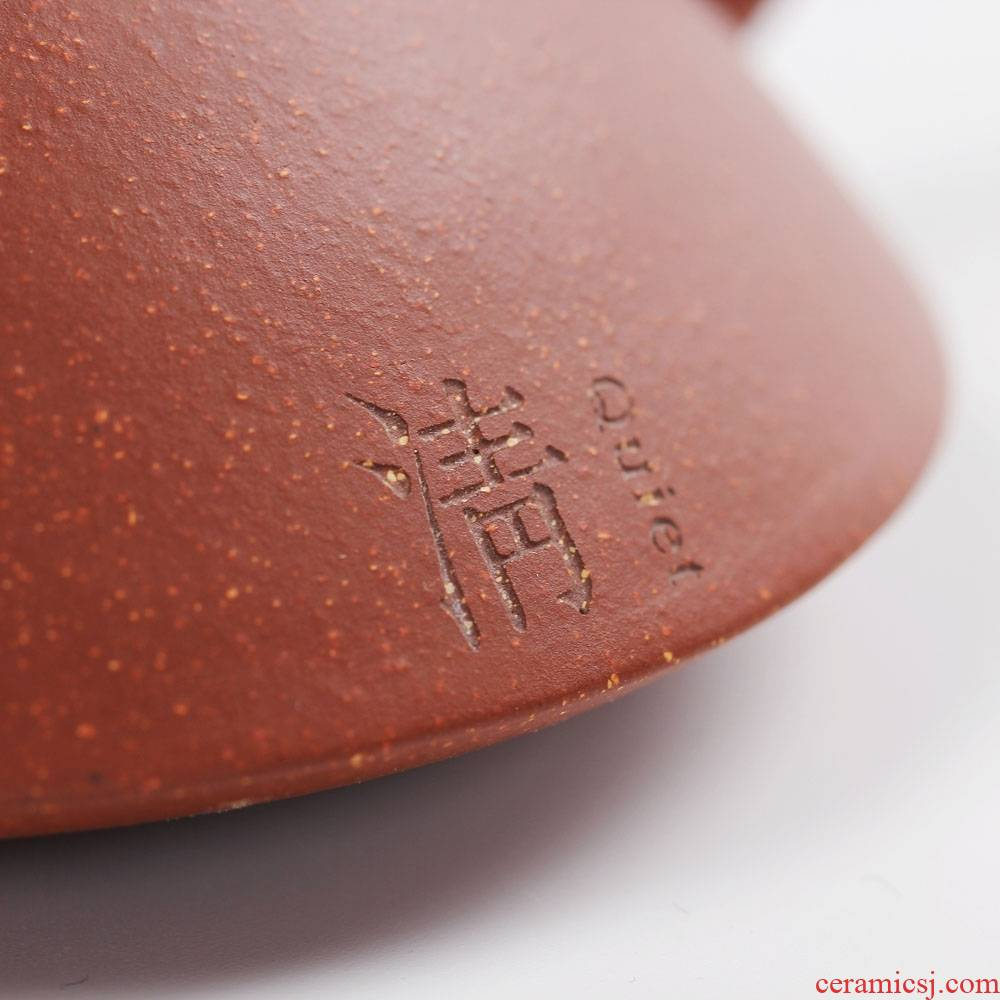 Qiao mu private custom yixing it undressed ore little red mudstone gourd ladle pot all hand kunfu tea of the teapot