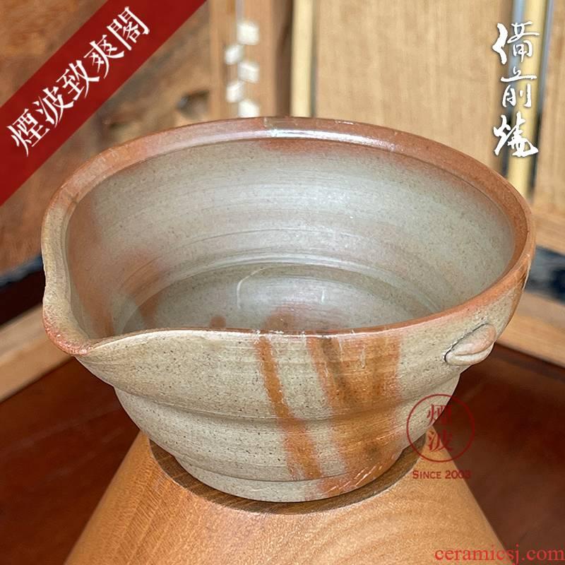 Japan prepared before burn TaoYun kimura firewood wonderful vitrified Fei 襷 soup cold justice